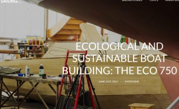 Sustainable Boat Building