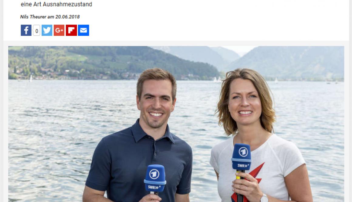 Yacht Philipp Lahm Tegernsee